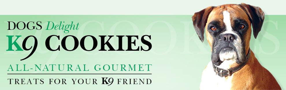 Gourmet dog cookies