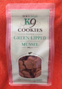 k9 Cookies - Green Lipped Mussel